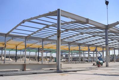 نظارت در سازه های فولادی