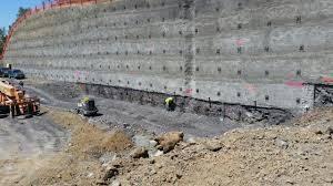 آیین نامه دیوارهای میخ گذاری شده در خاک