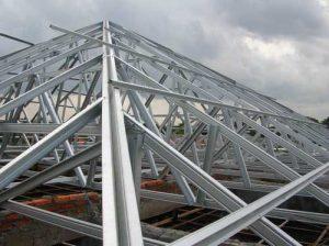 سقف فولادی
