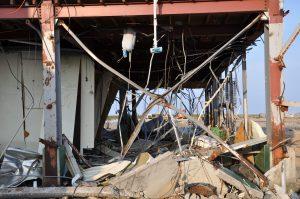 اثر زلزله بر ساختمان فولادی