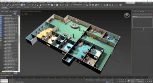 مدلسازی سطوح تخت در 3dsmax